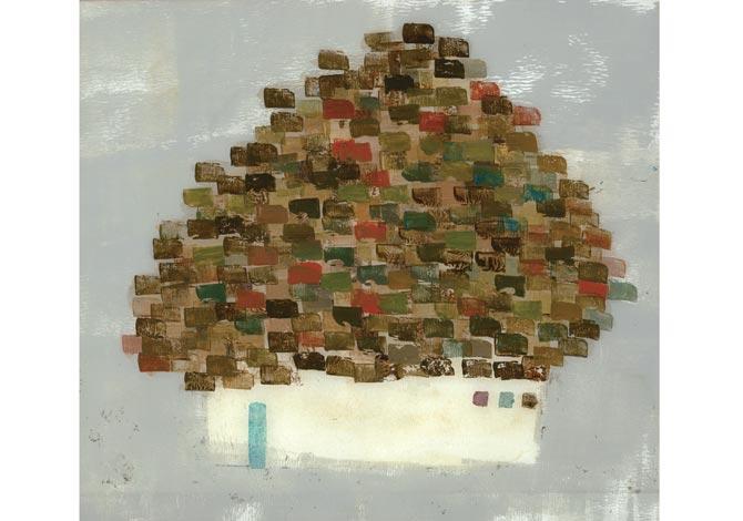 レンガの屋根